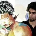 فنان الجرافيتي إبراهيم المصري