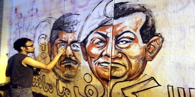 """30 يونيو يعيد """"الجرافيتي"""" إلى ميادين مصر"""