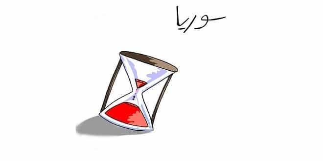 لوحة سوريا – بريشة الفنان عبدالعزيز يوسف أحمد