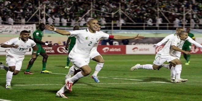الجزائر تتأهل إلى نهائيات كأس العالم 2014