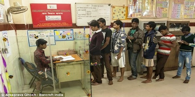 أطفال شوارع بالهند يقيمون مصرفا خاصا بهم