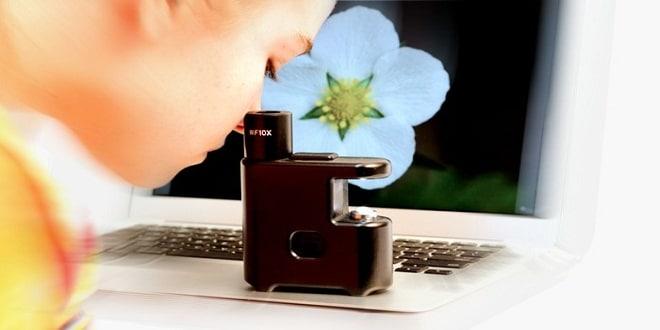"""""""مايكروبيسكوب"""" يدمج بين الآي فون والمجهر"""
