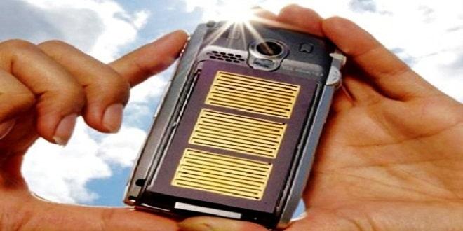 تطبيقات جديدة لشحن الهواتف باستخدام الطاقة الشمسية