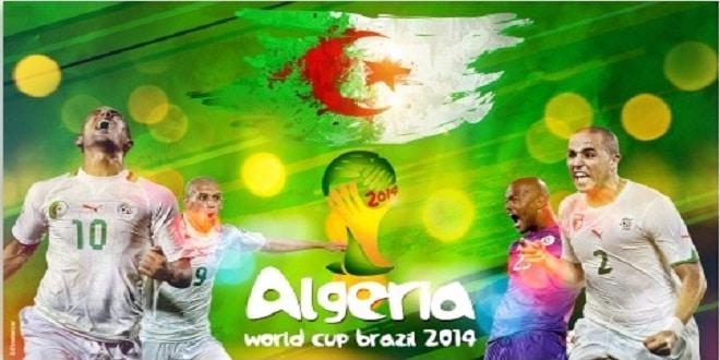 جزائريون يصنعون مجسمًا عملاقًا لكأس العالم